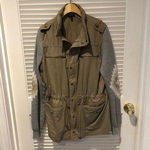 QUINN Khaki/Tan Jacket